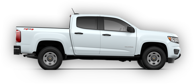 2018 Colorado side view