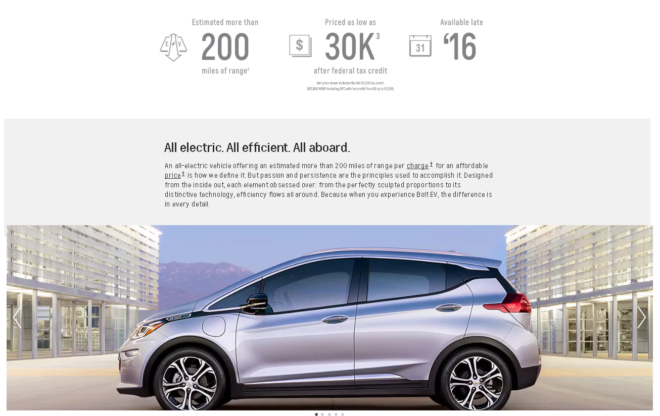 Valley Chevy - 2017 Chevrolet Bolt Specs (Infographic)