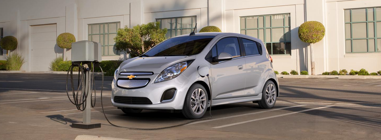 Valley Chevy - 2017 Chevrolet Spark EV Fueling Up