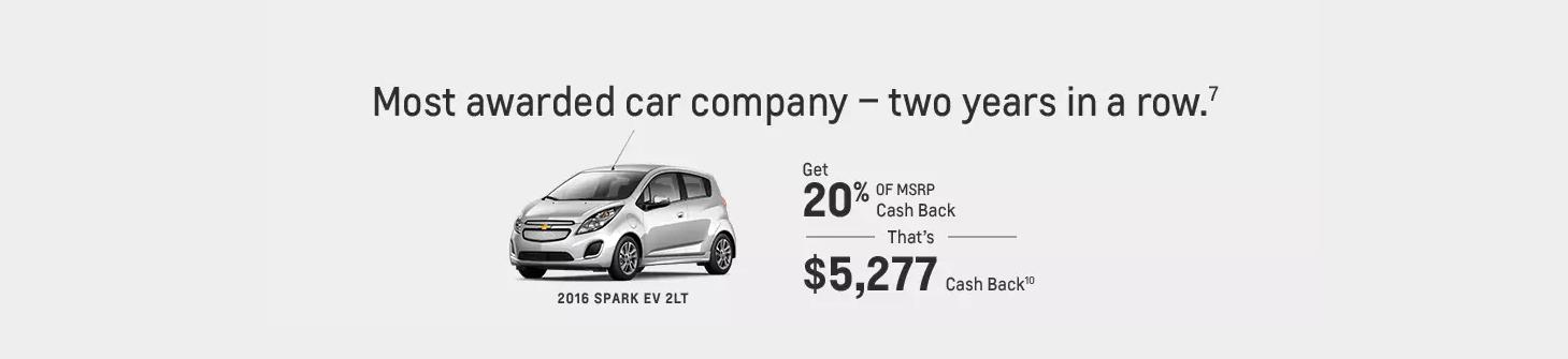 Valley Chevy - 2016 Chevrolet Spark EV Info