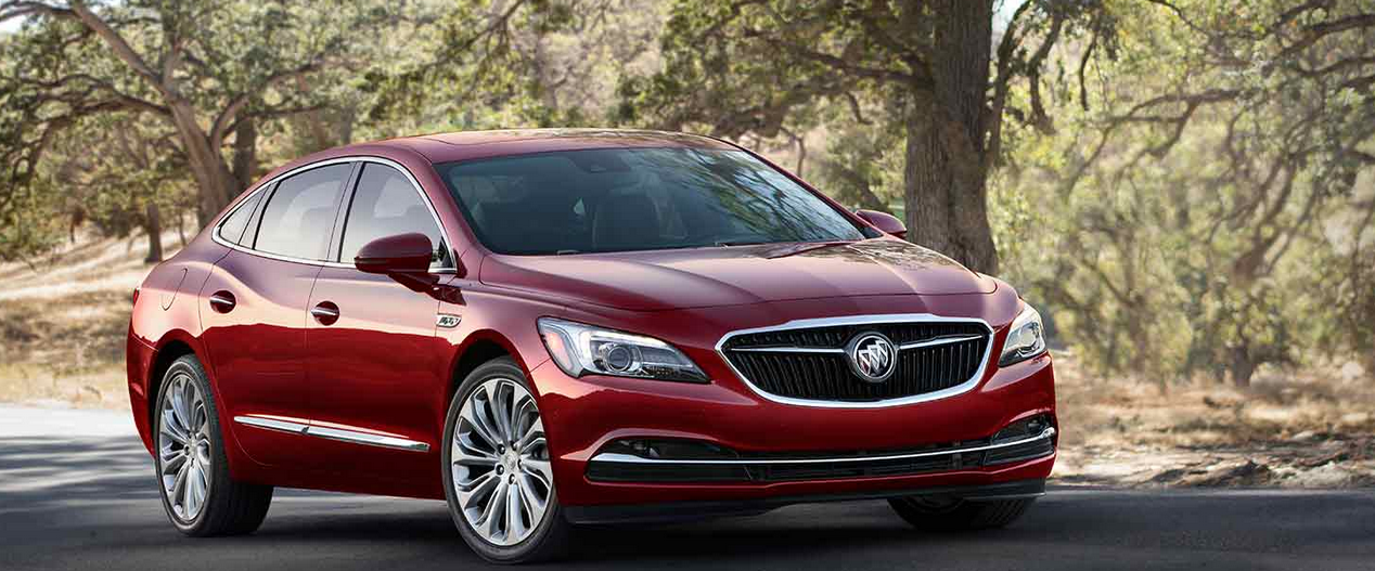 Valley Chevy - 2017 Buick LaCrosse Maroon