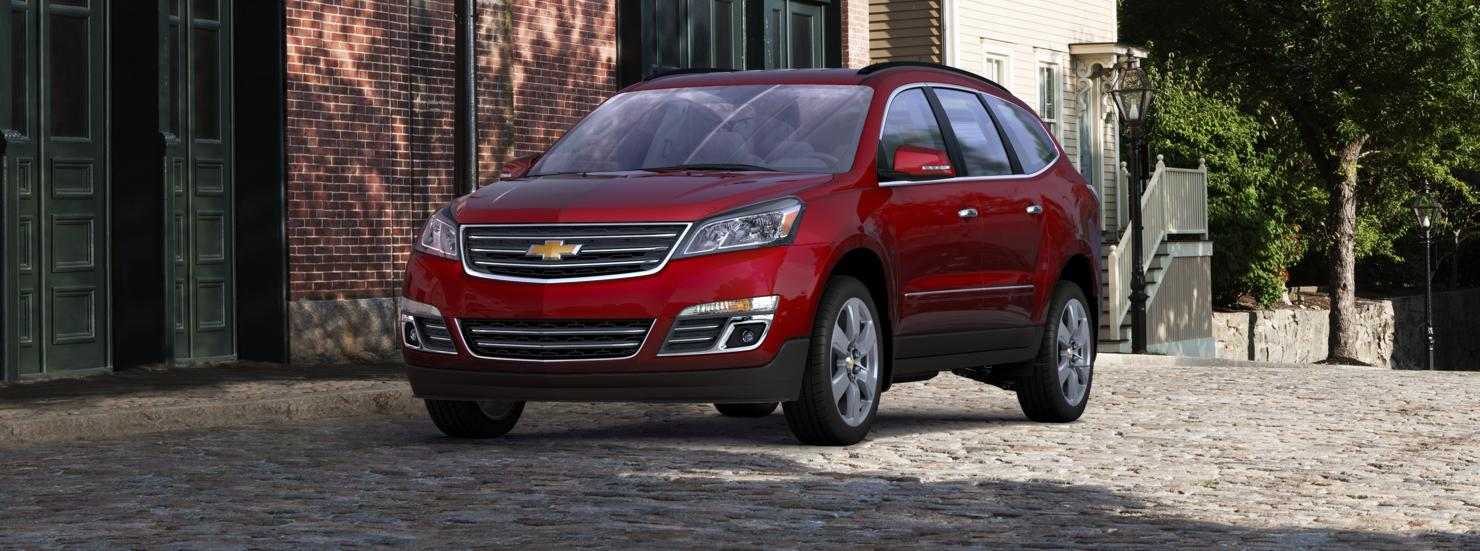 Valley Chevy 2017 Chevrolet Traverse In Red
