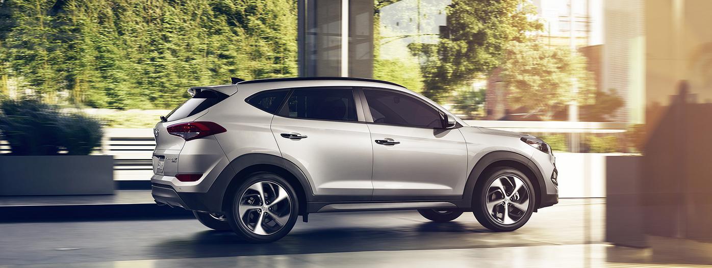 Valley Chevy - 2016 Hyundai Tucson in Grey