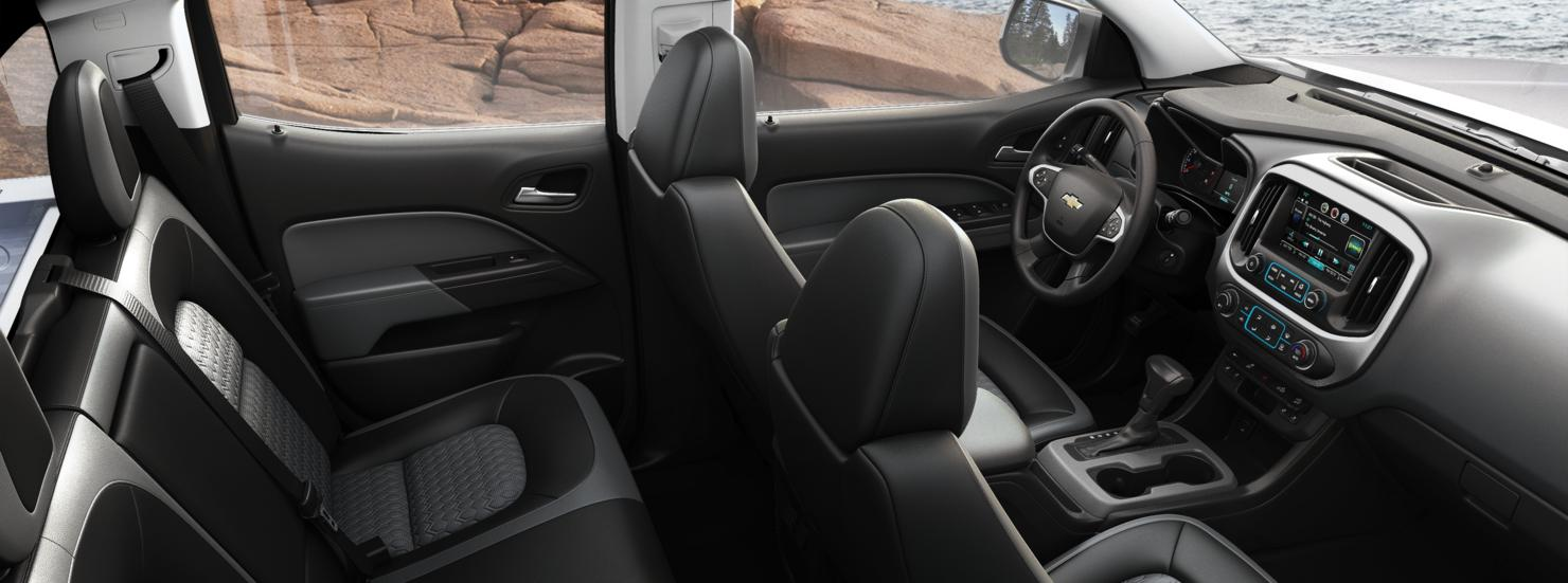 Valley Chevy - 2016 Chevrolet Colorado in Black Console Interior