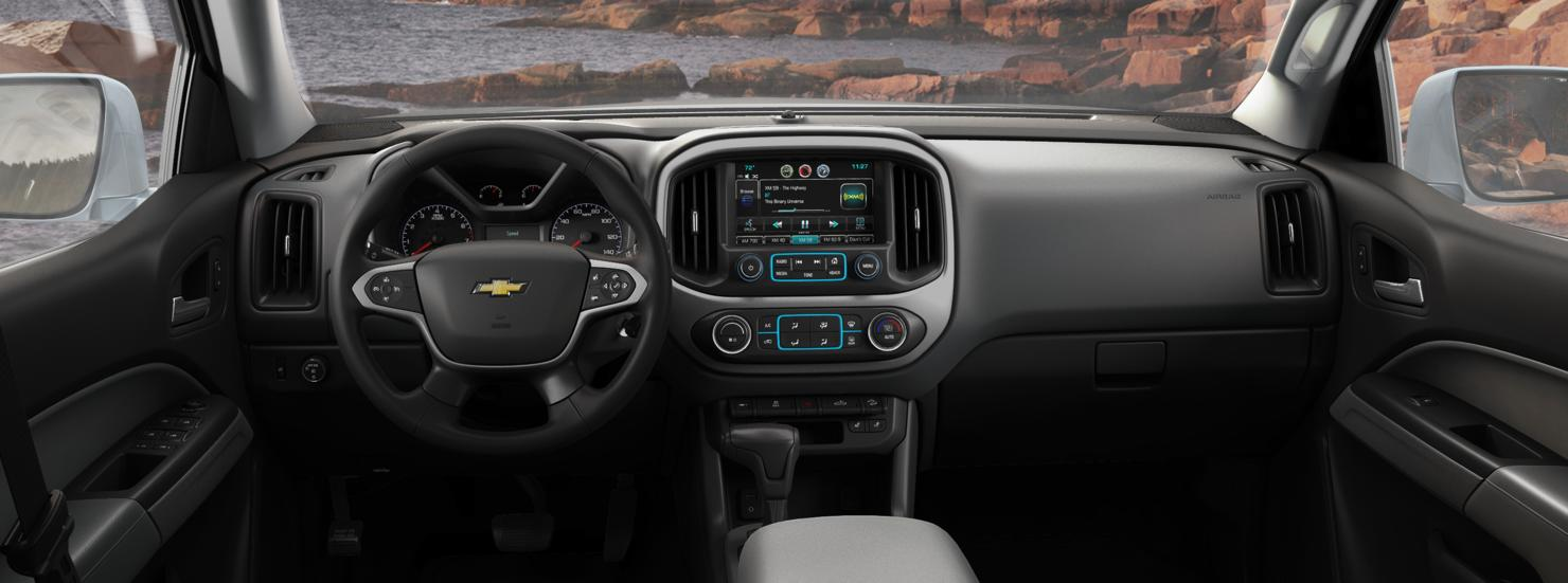 valley chevy 2016 chevrolet colorado in leather interior. Black Bedroom Furniture Sets. Home Design Ideas
