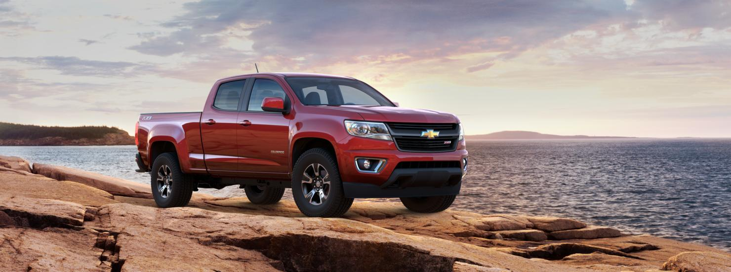 Valley Chevy - 2016 Chevrolet Colorado in Ruby Red