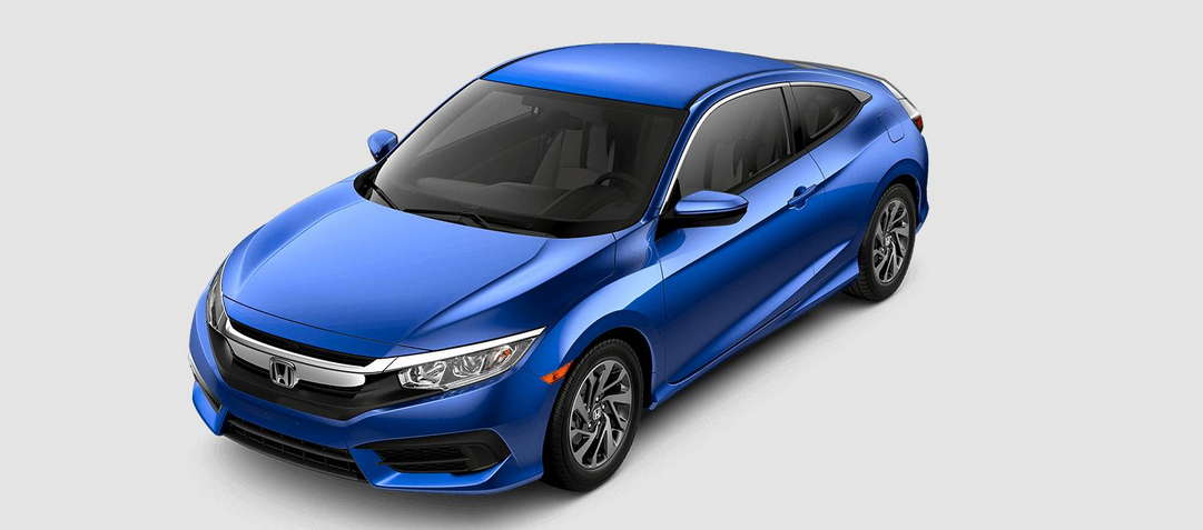 Valley Chevy - 2016 Honda Civic Coupe in Blue