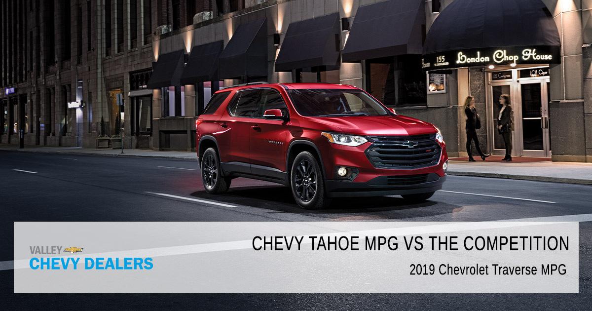 Chevy Tahoe MPG vs Expedition, Sequoia, Armada, Yukon ...