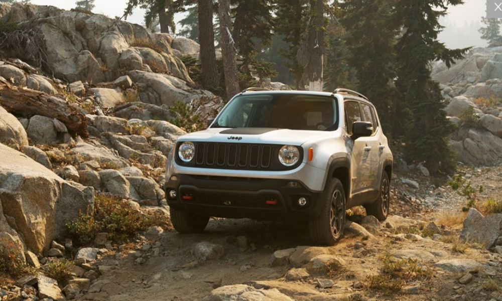 Valley Chevy - 2017 Jeep Renegade Going Offroad