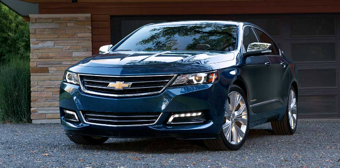 Valley Chevy - 2017 Chevrolet Impala Premier in Blue