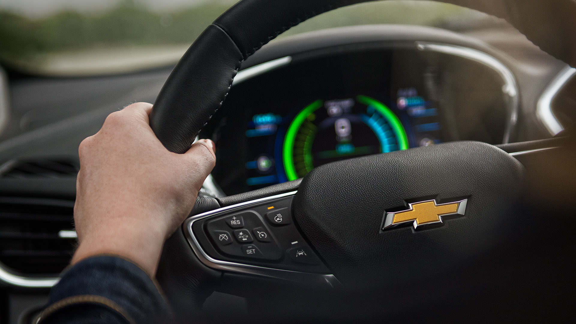 Valley Chevy - Chevrolet 2017 Volt: Interior Steering Wheel