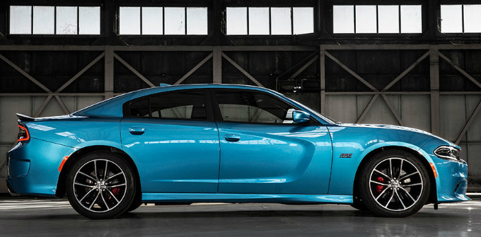 Valley Chevy - 2017 Dodge Charger R/T Road & Track in Light Blue