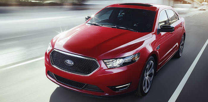 Valley Chevy - 2017 Ford Taurus Premier in Red