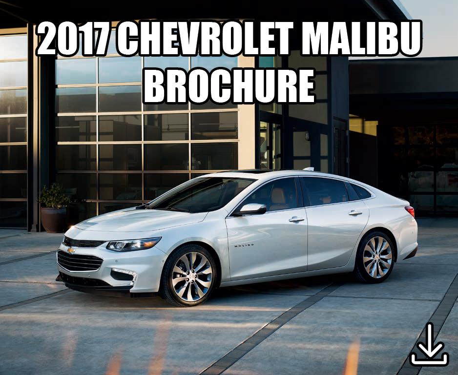 2017 Chevrolet Malibu Folleto