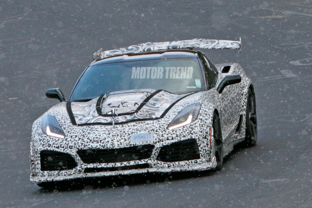 Valley Chevy - Chevrolet Corvette ZR1 Spied at Nurburgring