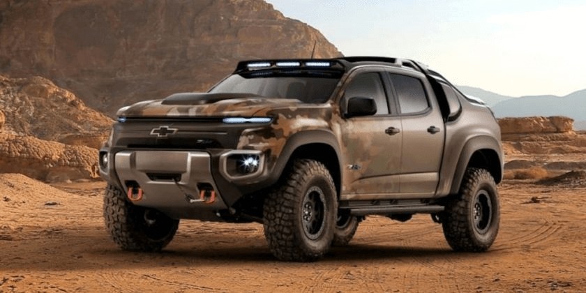 Valley Chevy Phoenix: Chevrolet Colorado ZH2 Army Picup Truck Featured