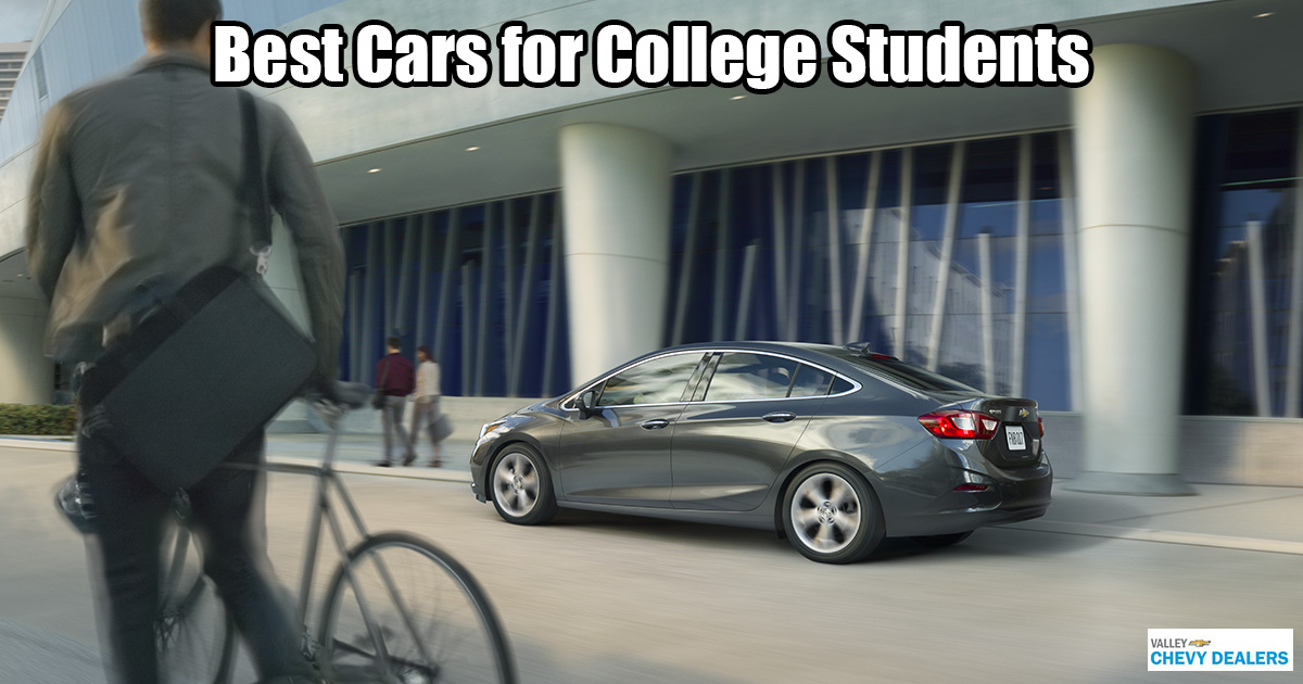 Valley Chevrolet in Phoenix - Which Car is Best for a College Student?