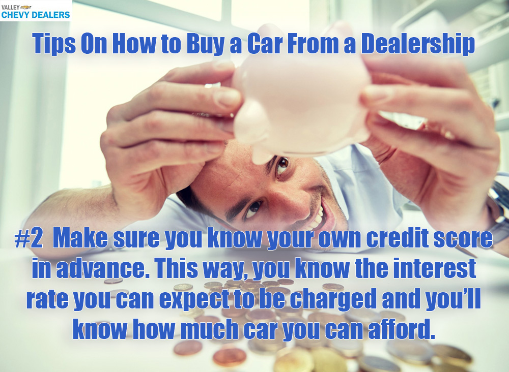 Valley Chevy in Phoenix: Tips on Buying a New Car From a Dealership - Loan