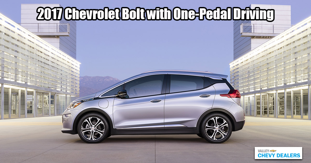 Valley Chevy - 2017 Chevrolet Bolt with One-Pedal Driving