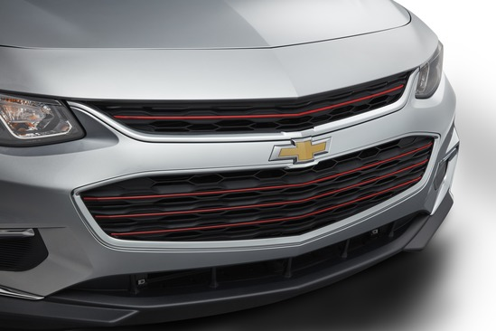 Valley Chevy 2017 Malibu Grille