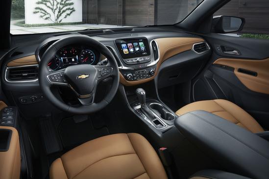 Valley Chevy Dealers Exuinox Interior Features
