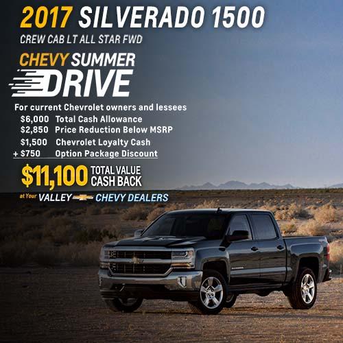 2017 Silverado Deals in Phoenix