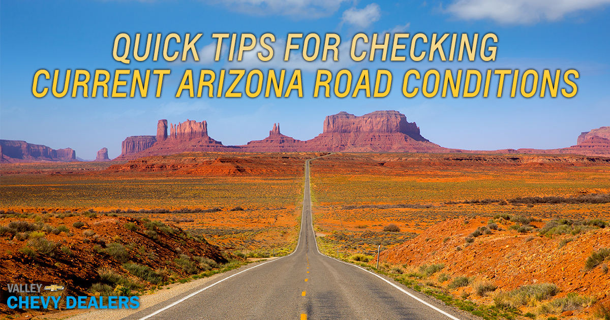 Quick Tips for Checking Current Arizona Road Conditions