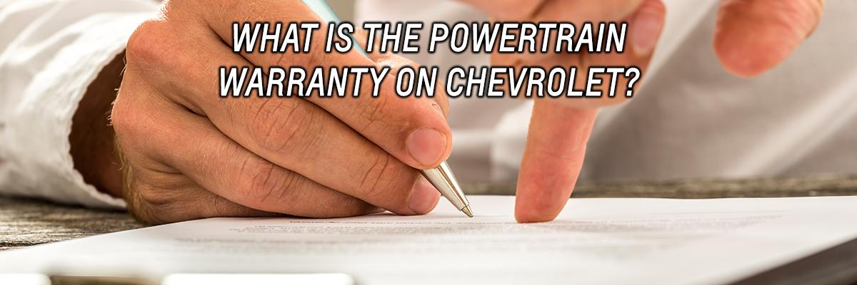 What is the Powertrain Warranty on Chevrolet-