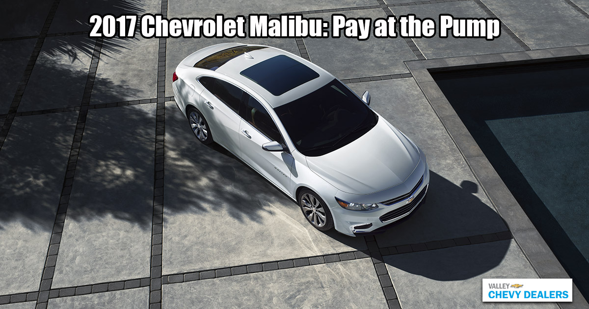 Valley Chevy - 2017 Malibu MPG Annual Fuel Cost: Pump