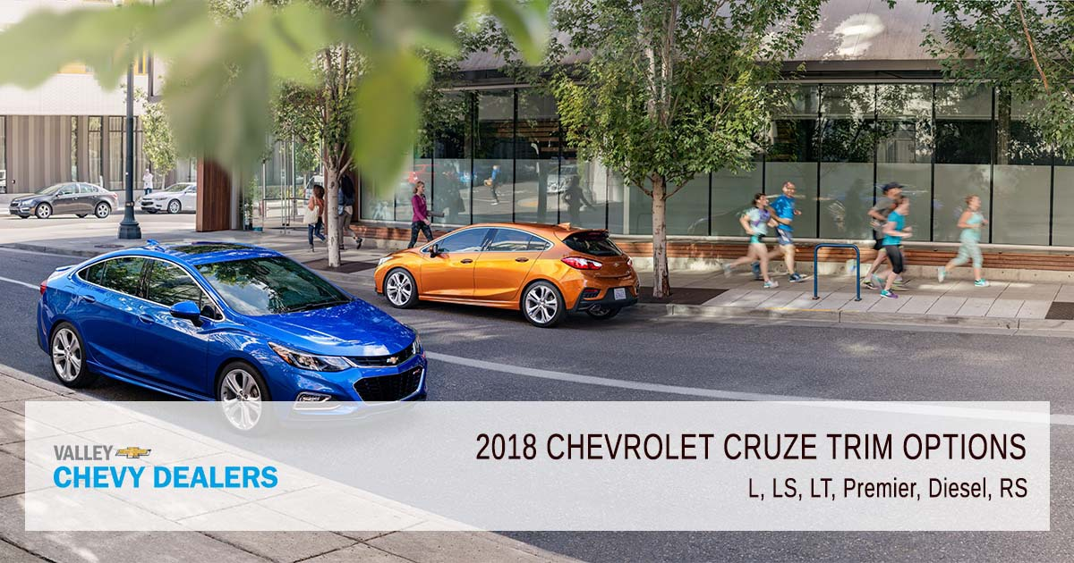 Valley Chevrolet - 2018 Trims Cruze