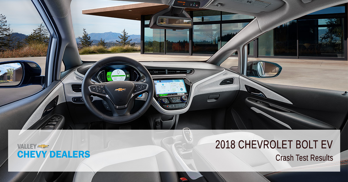2018 Chevy Bolt EV Safety Rating - Crash Tests
