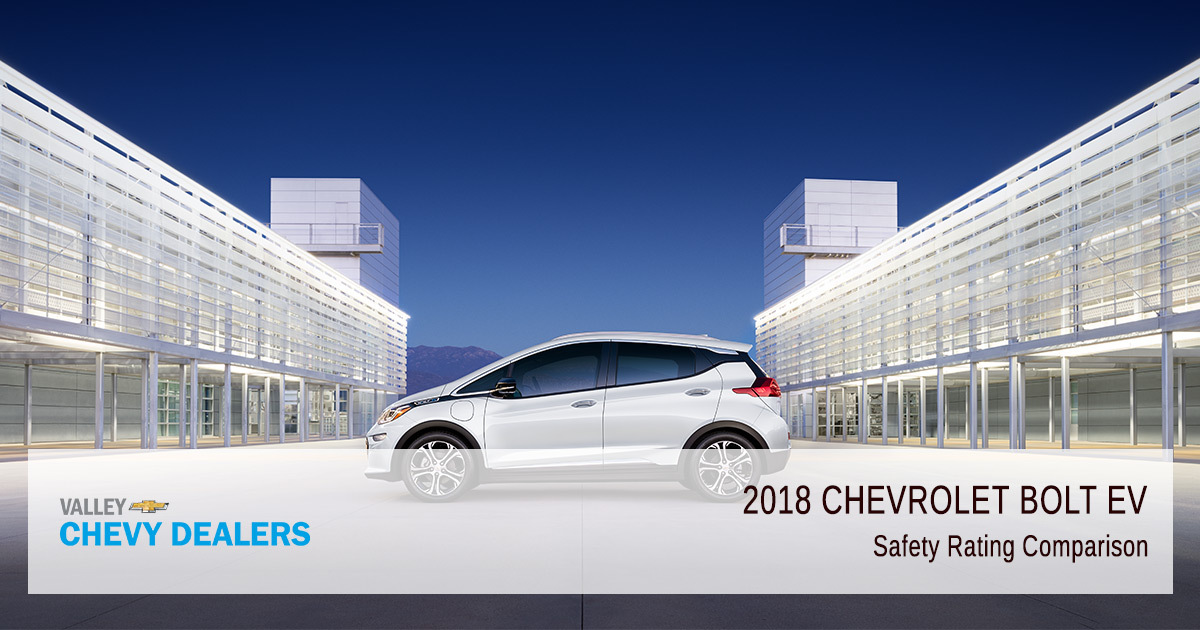 2018 Chevy Bolt EV Safety Rating - Comparison