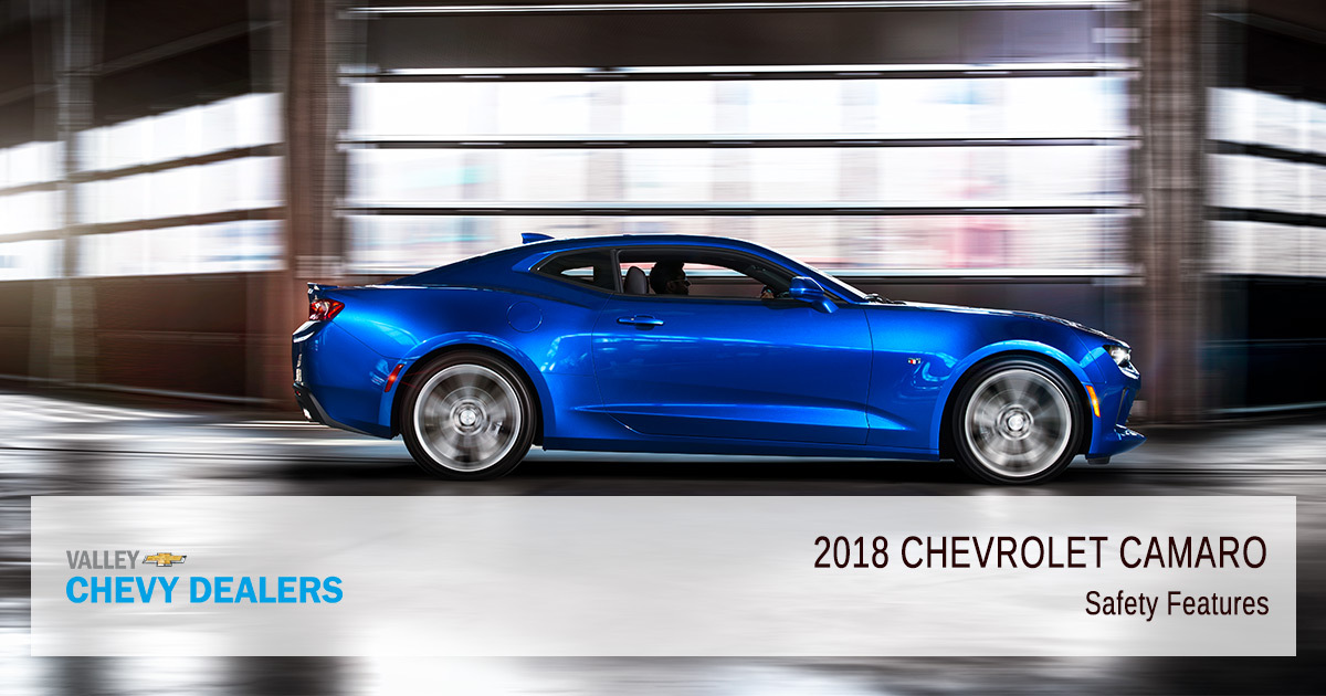 2018 Chevy Camaro Safety Rating - Blue