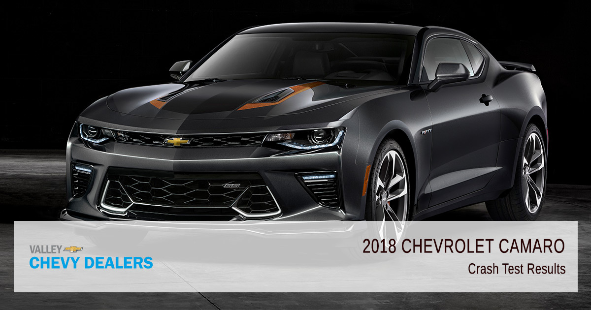 2018 Chevy Camaro Safety Rating - Crash Test