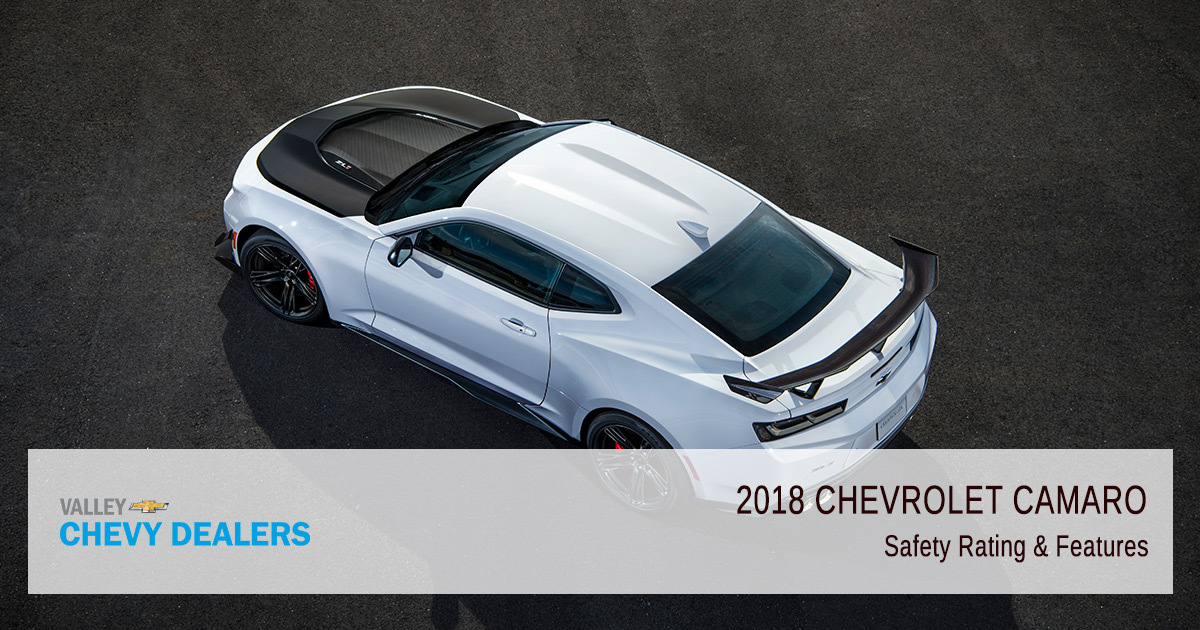 2018 Chevy Camaro Safety Rating - Parts