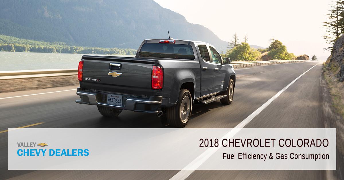2018 Chevrolet Colorado Fuel Economy & Rendimiento de la ...