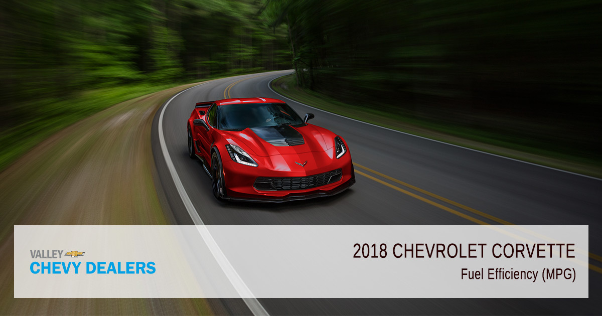 2018 Chevy Corvette Fuel Efficiency - MPG