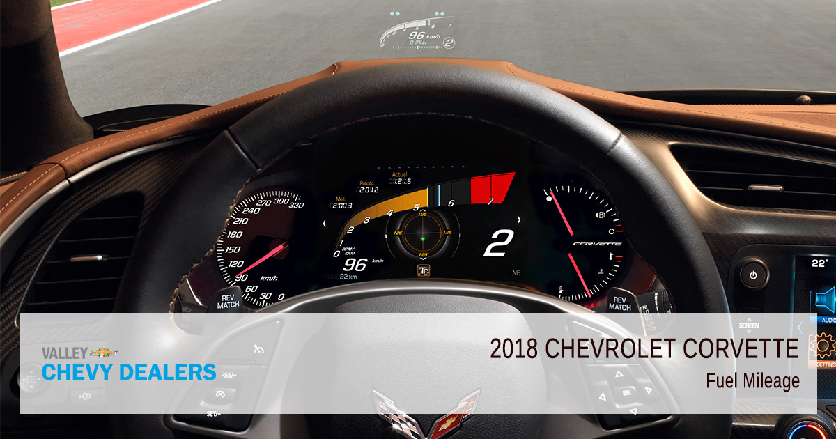 2018 Chevy Corvette Fuel Efficiency - Mileage