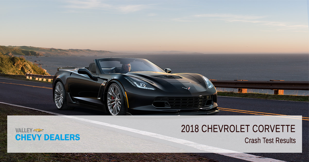 2018 Chevy Corvette Safety Rating - Results