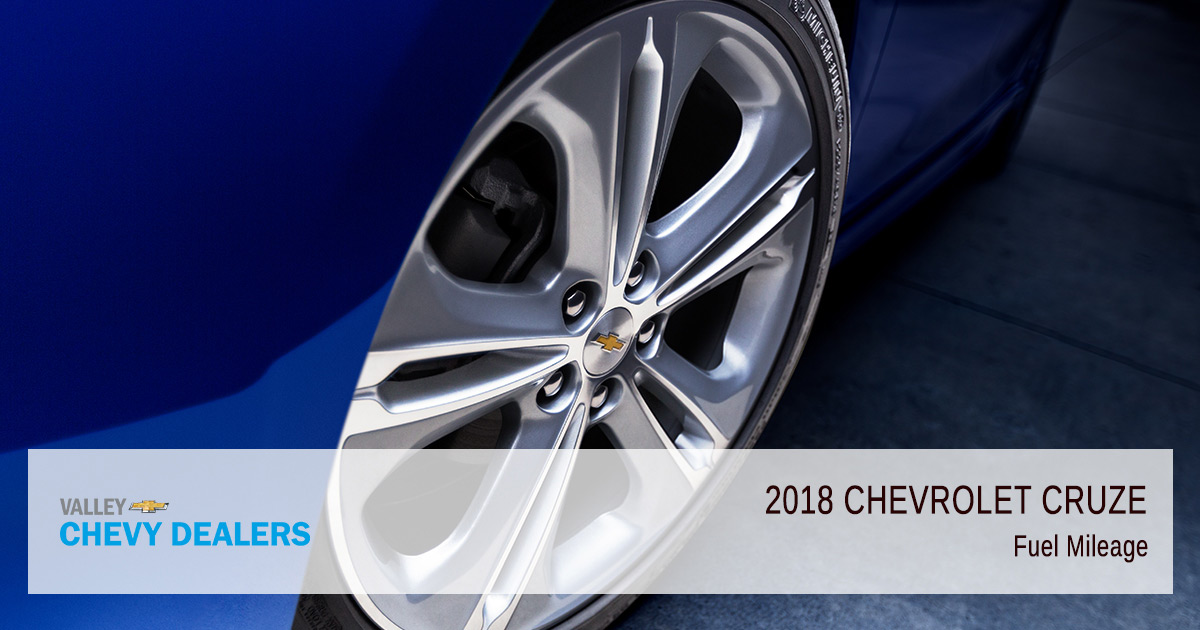 2018 Chevy Cruze Fuel Efficiency - Mileage