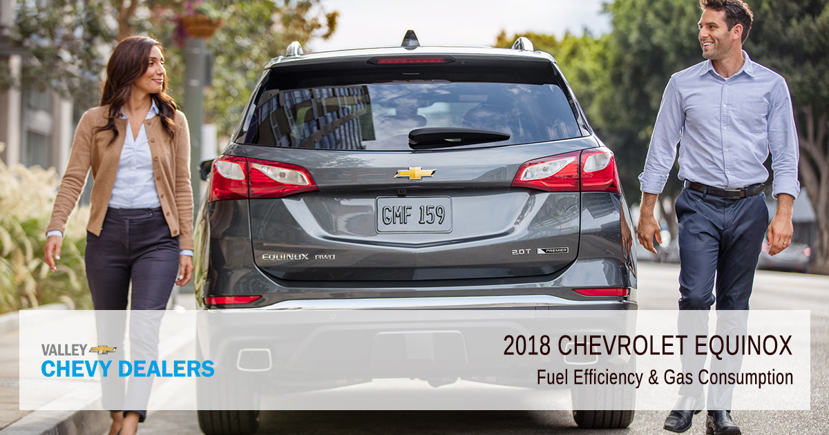 2018 Chevrolet Equinox Fuel Economy & Gas Mileage (MPG) | Valley Chevy