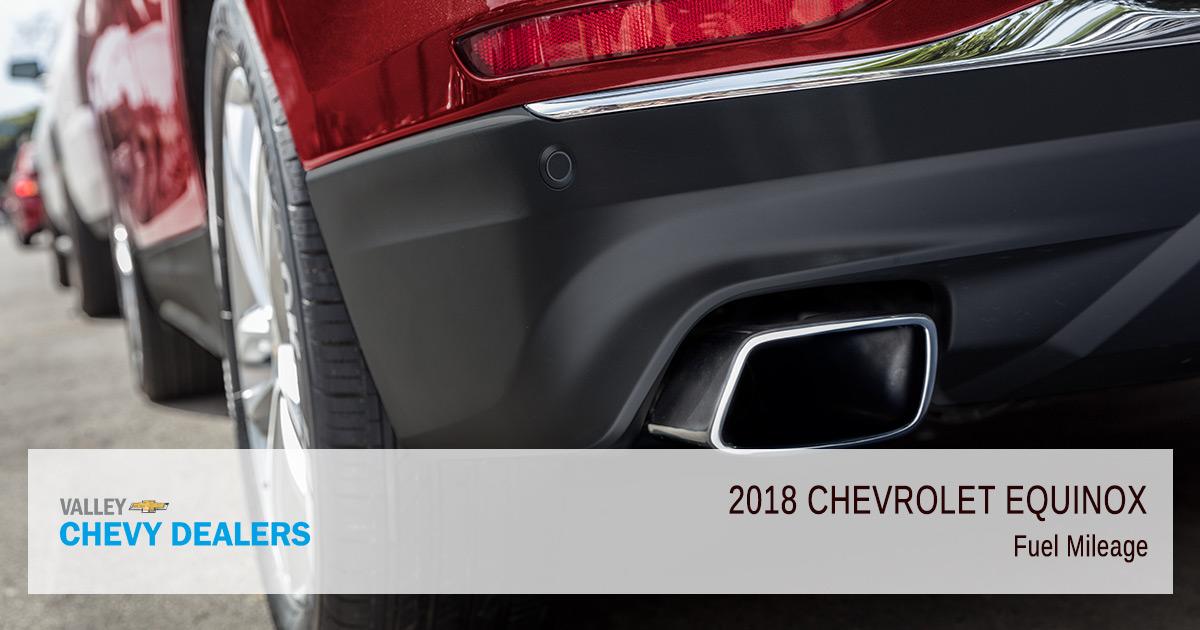 2018 Chevy Equinox Fuel Efficiency - Mileage