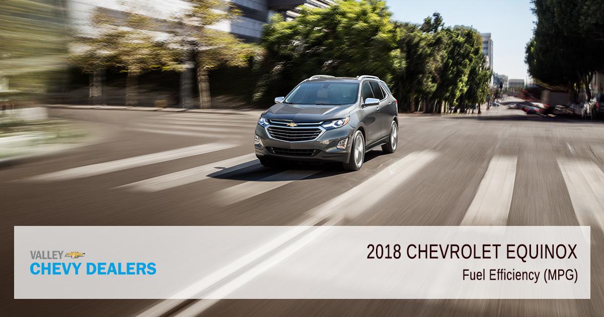 2018 Chevy Equinox Fuel Efficiency - MPG