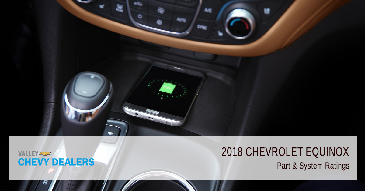 Valley Chevy - 2018 Chevy Equinox Reliability - System Ratings