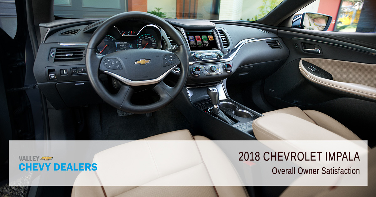 Valley Chevy - 2018 Chevy Impala Reliability - Ratings