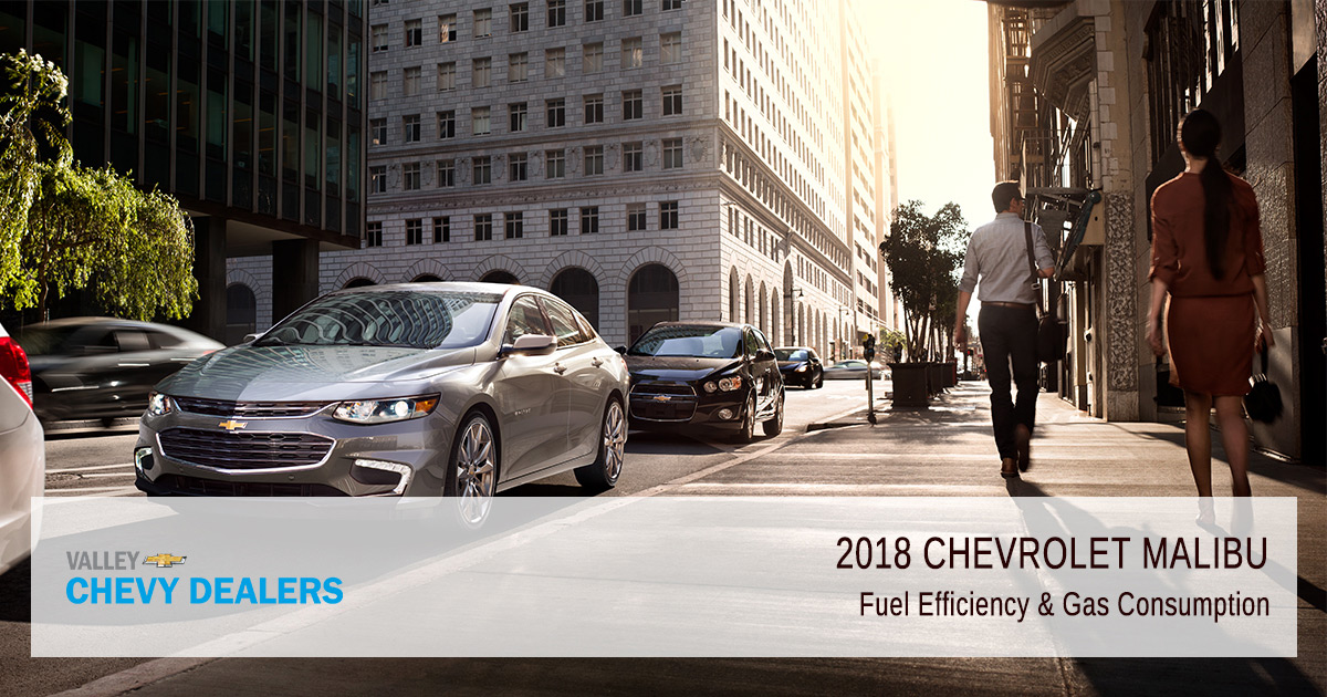 Valley Chevy 2018 Malibu Fuel Efficiency Featured