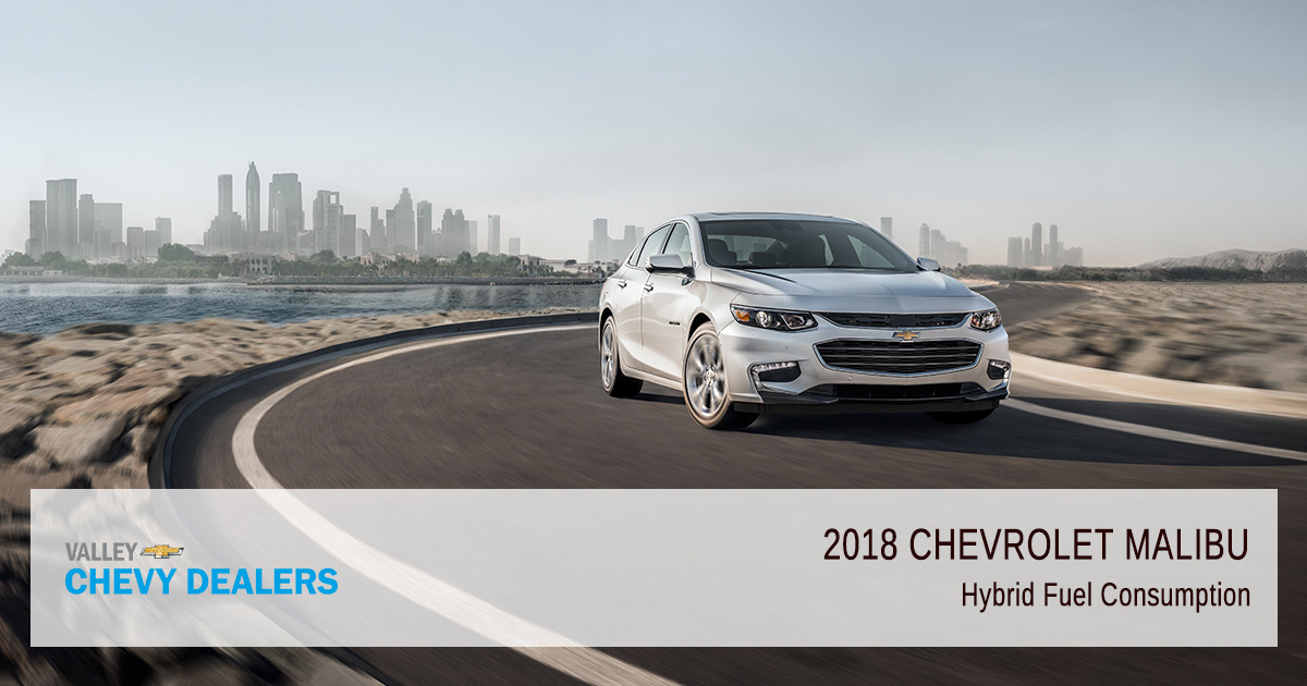 Valley Chevy - 2018 Chevy Malibu Fuel Efficiency - Consumption