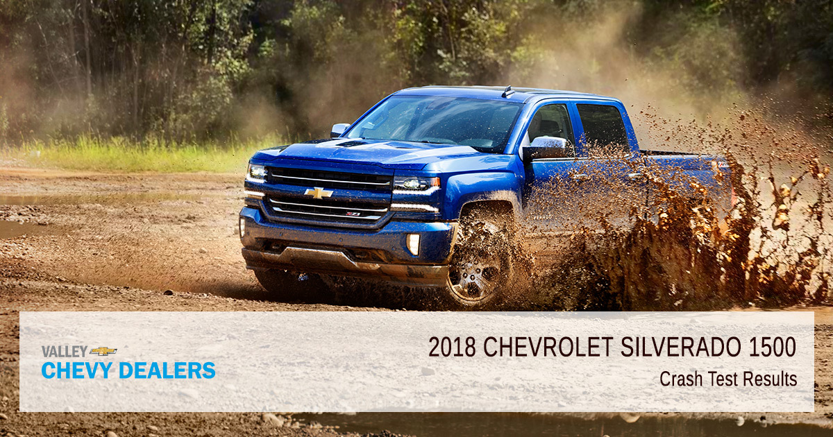 2018 Chevy Silverado 1500 Safety Rating - Test Results