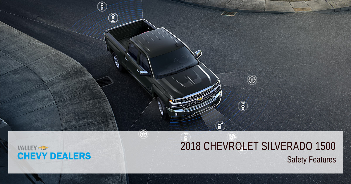 2018 Chevy Silverado 1500 Safety Rating - Parts Features