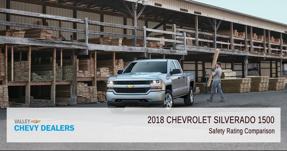 2018 Chevy Silverado 1500 Safety Rating - Comparison